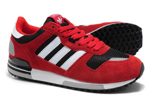 Adidas Zx 700 Mens Size Us7 7.5 9 10.5 Red Black White Factory Outlet